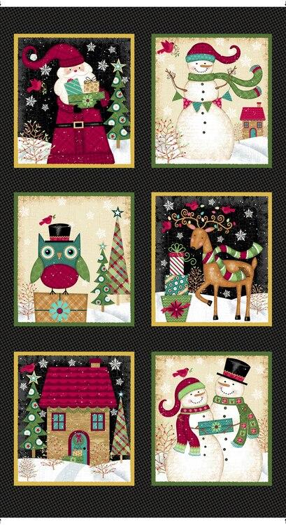 MT - Studio E - Holly Jolly Christmas - Panel