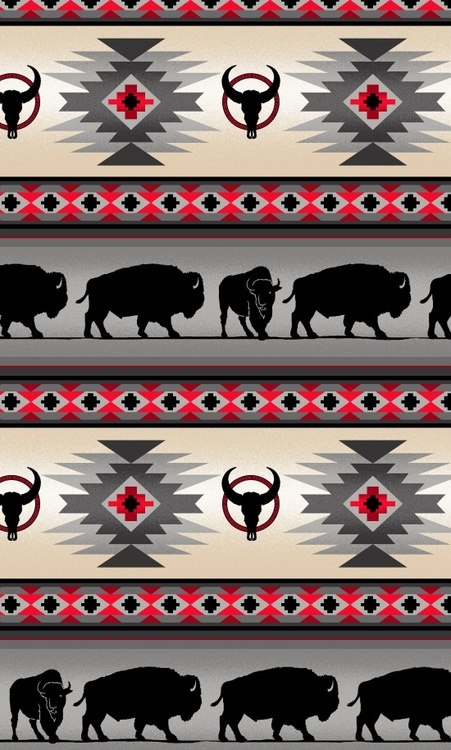 Tucson Gray Buffalo Stripe
