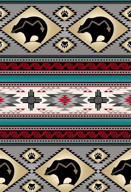 Tucson Bear Gray Stripe