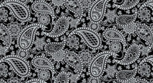 Paisley Silver/Black Jubilee