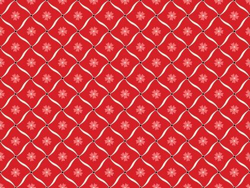 Benartex Jubilee Holiday Blender Green/Red