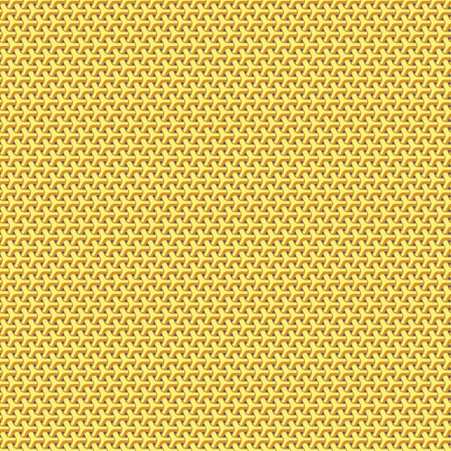 Yellow and Gold Geometric Design:  Dot Crazy by Weeks Ringle & Bill Kerr for Contempo Studio in association with Benartex