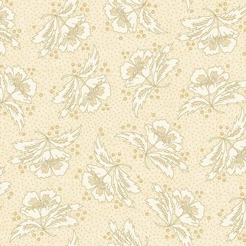 Butter Churn Cream Poppy Field