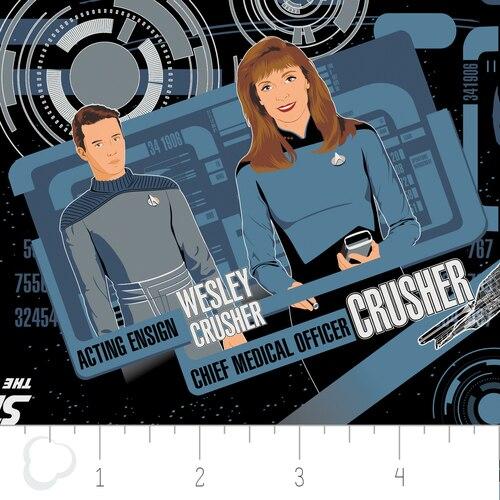 Star Trek The Next Gen- Blue Uniforms 6320104/01