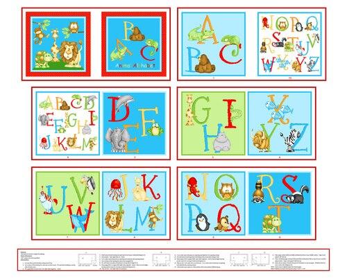 Little Readers Abc Animal Alphabet Book