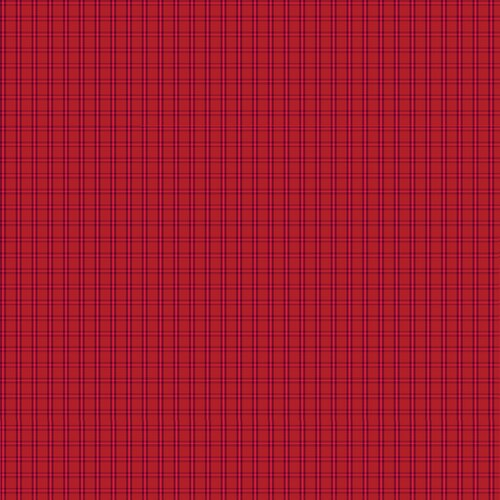 Warp & Weft Tiny Plaid Red #6608Y/10