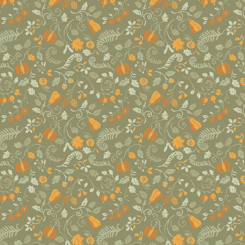 Camelot Autumn Impressions Green Harvest 66180201/03