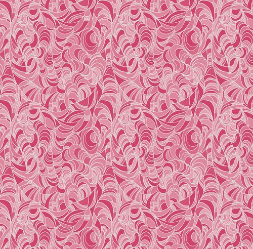 Lily Anne 3D Pink - Pearlesque