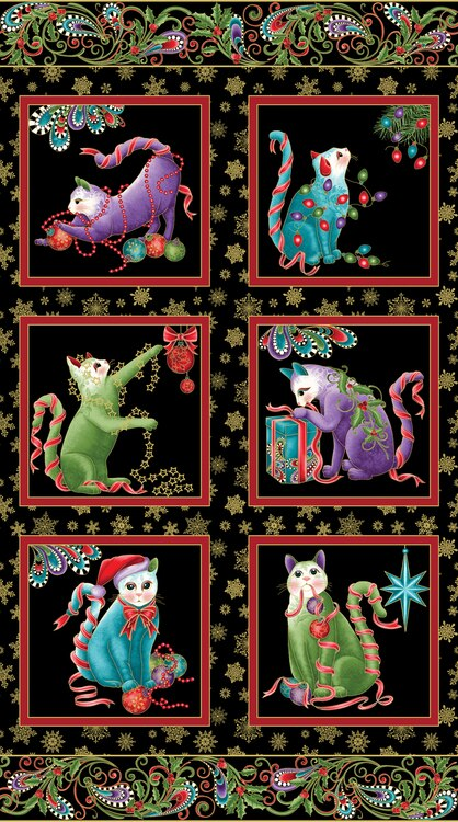 Cat-I-Tude Holly Panel