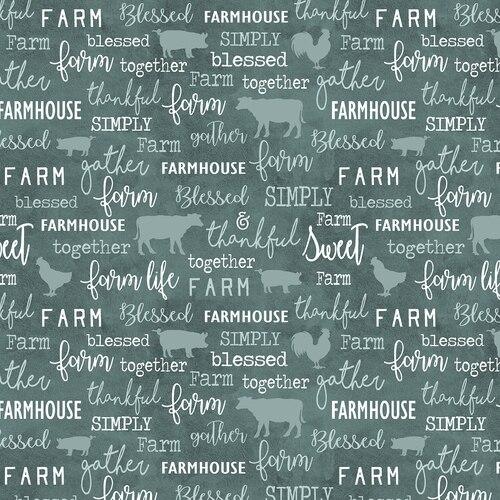 FARM SWEET FARM WORDS SPRUCE