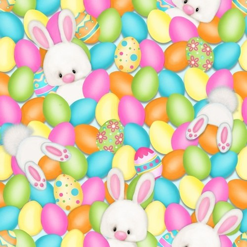 Easter Eggs & Rabbits - Hop To It