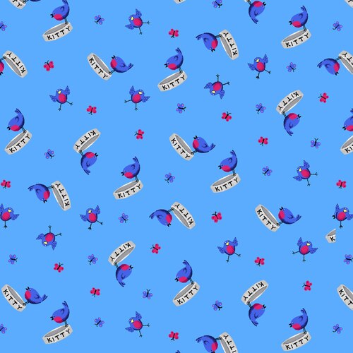 Birds on Blue Day Dreamers 7175/17