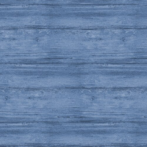 FAB, WASHED WOOD MARINE BLUE