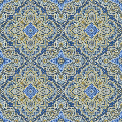 Blue Symphony Medallion Cobalt