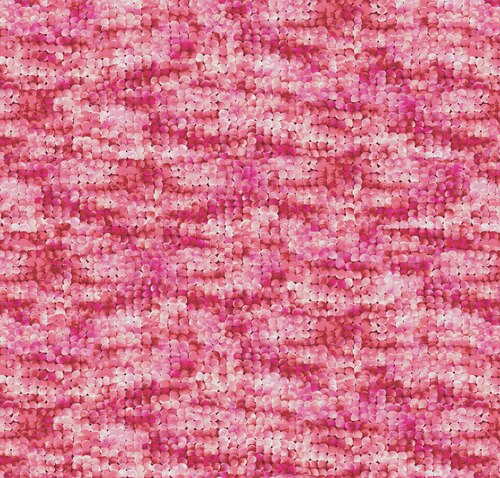 Blooming Beauty 17819-28 Packed Circles Coral/Pink