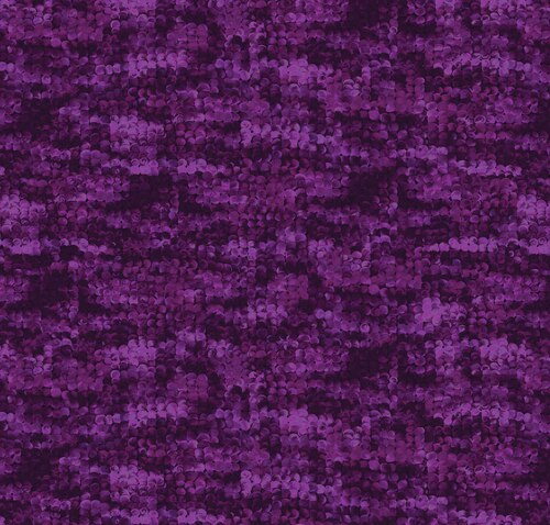 Blooming Beauty 17819-66 Packed Circles Purple