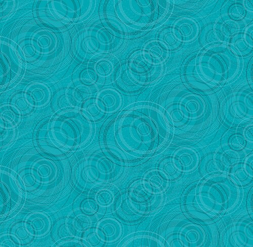 PEARL REFLECTIONS CIRCLES TEAL
