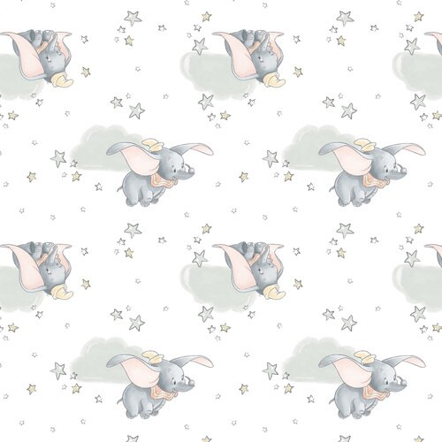 Disney Classics Collection Dumbo Sentimental Fabric by the yard