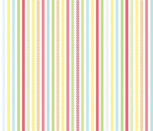 Friendship Forest Stripe White/Multi
