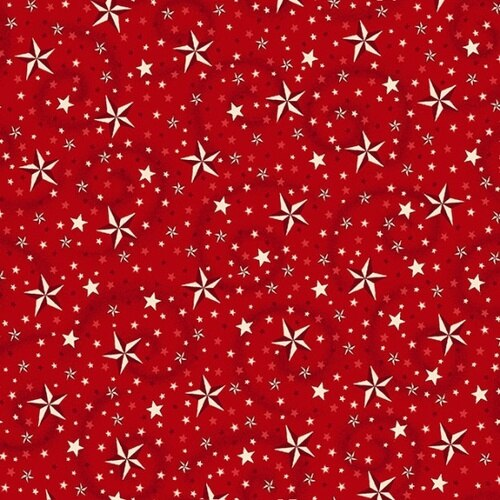 Red with Stars 108