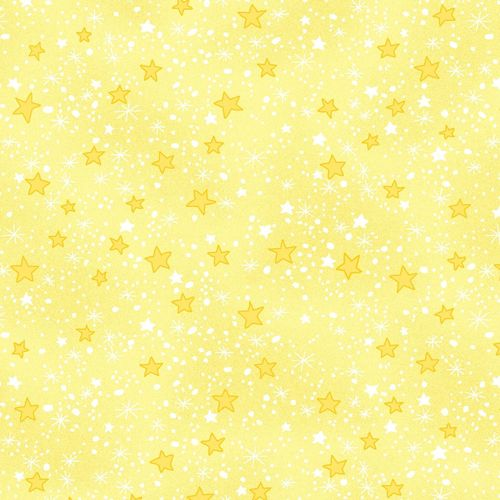 Comfy Flannel Yellow Stars