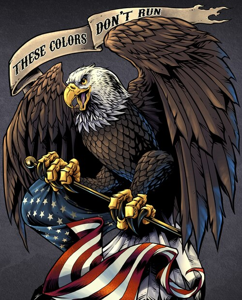 Pride & Courage These Colors Don't Run Panel