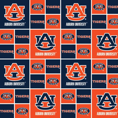 Auburn Tigers Block Cotton