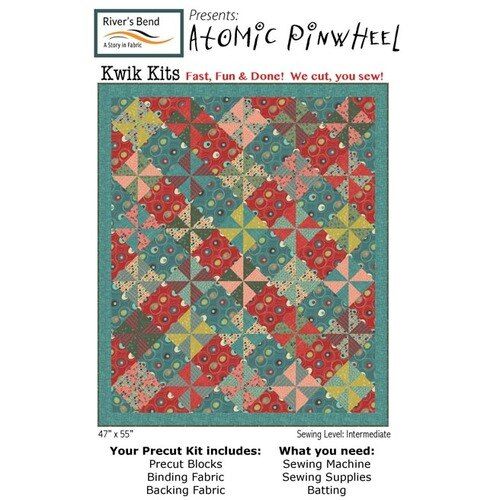 Atomic Revival Pinwheel Quilt Kit