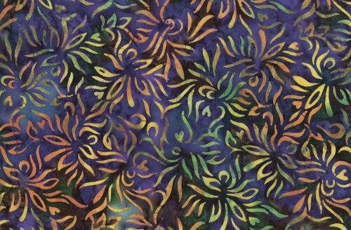 Outline Floral - Violet/Multi