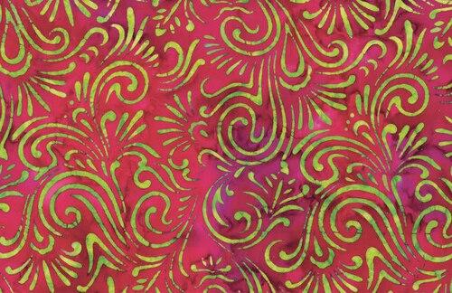 Wave Floral - Magenta
