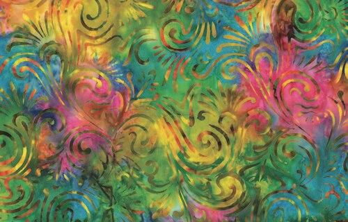 Wave Floral - Bright/Multi