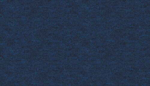 Celestial Lights - Navy Cotton Shot
