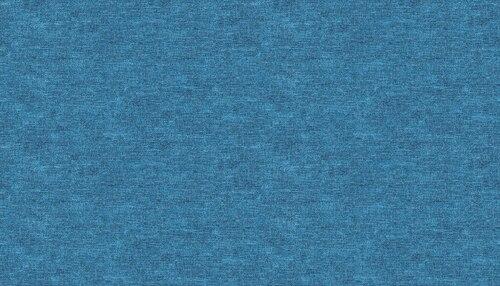 Celestial Lights - Cotton Shot Blue
