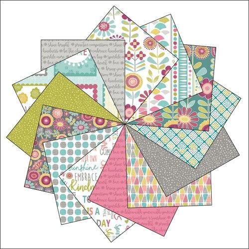 Choose To Shine - 5X5 Squares Charm Pack