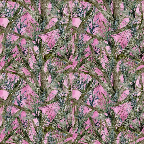 SPECIALTY FABRICS ROOM:  True Timber Mc2 Pink Camo by Springs Creative
