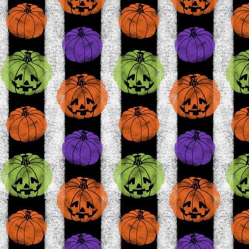 Halloween Fun Pumpkin Stripe