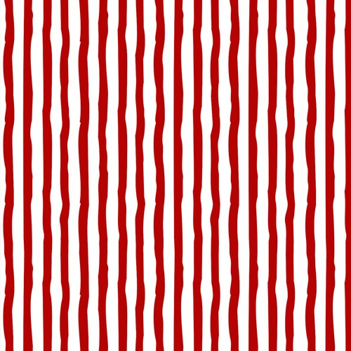 STRIPE RED/WHITE - flannel