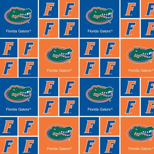 Licensed:  University of Florida Gators 4 Patches and Single Patches Blocks by Sykel Enterprises