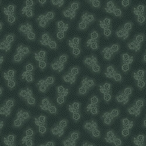 Esther's Heirloom Shirtings - Double Daisies<br>1597-77 - Blue