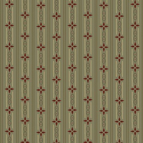 Esther's Heirloom Shirtings - Wallpaper Stripe<br>1599-11 - Aqua (Sage)