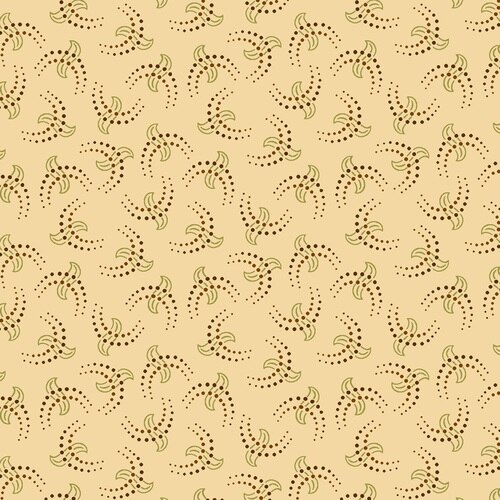 Esther's Heirloom Shirtings<br>Cresents<br>1608-44 - Cream
