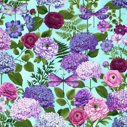 Hydrangea Bouquets Sky Blue - Dragonfly Garden