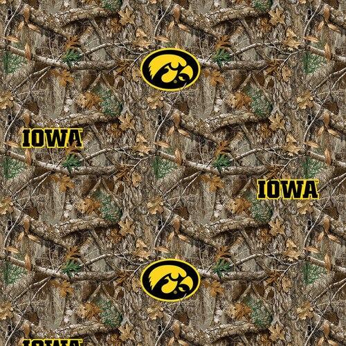Iowa Hawkeyes Realtree Edge
