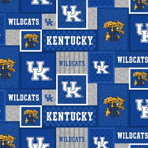 College Patch Fleece - Kentucky Wildcats
