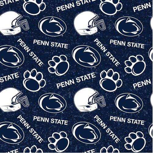 Licensed:  Penn State Nittany Lion White Logos on Blue by Sykel Enterprises