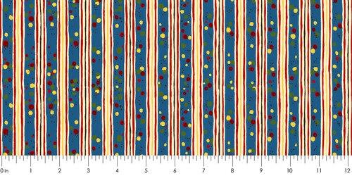 Round Up - Stripe<br>Blue - RU1981-7