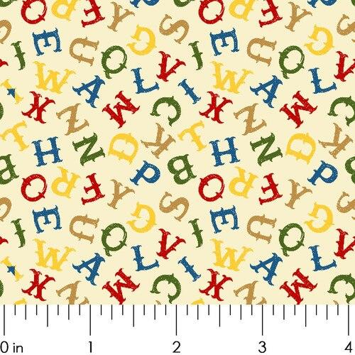 MWT Round Up Alphabet Multi RU1982/5