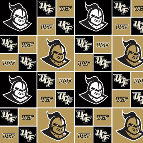 Licensed:  University of Central Florida Black and Gold Squares by Sykel Enterprises