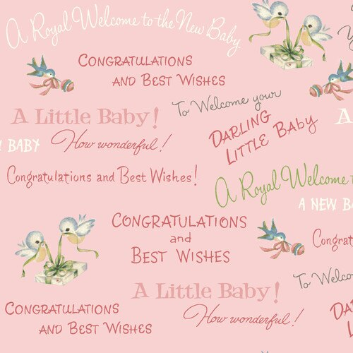 Welcome Baby WELC3014/P