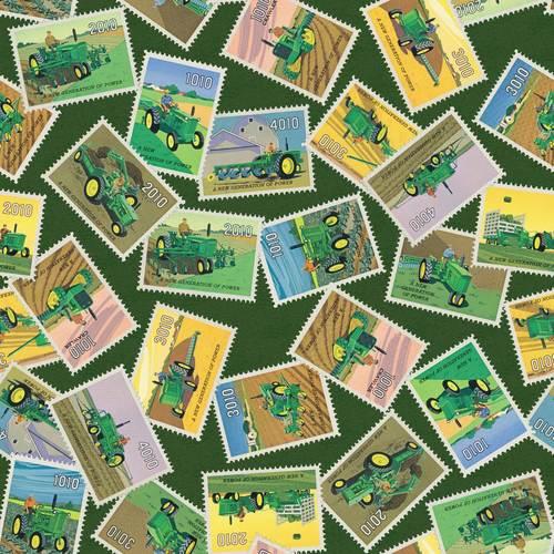 Springs Creative -  John Deere - 70165-6470715 - John Deere Stamps - Green